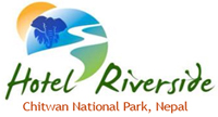 Hotel River Side, Chitwan National Park. Sauraha Logo